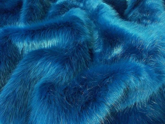 SWISS MAGENTA Super Luxury Faux Fur Fabric Material Teddys