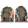 Set Of 2 Magical Lucky Fairy Secret Garden Door Ornaments