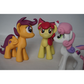 Customised Resin MLP Filly Figure