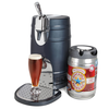 The Countertop Keg Chiller - Hammacher Schlemmer