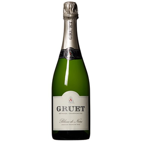 25% Off + 1¢ Shipping on Gruet Blanc de Noirs Sparkling Wine