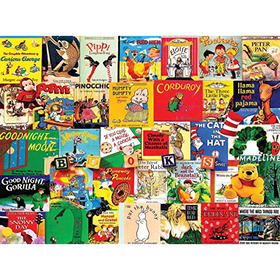 White Mountain Puzzles Classic Picture Books - 300 Piece Jigsa...