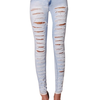 LILY LULU Apparel disco high waisted skinny jeans