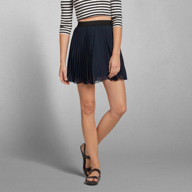 ae4a0c5ea Pleated Chiffon Skater Skirt | abercrombie.com Price Drop & Discount Codes  Alerts | Booly