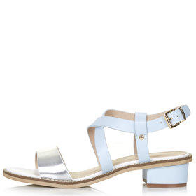 HEARTBEAT Two Part Sandals - Blue