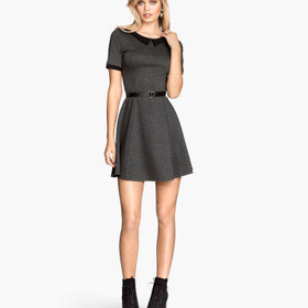 H&M Dress with Collar $24.95