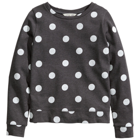 H&M - Sweatshirt with Zips