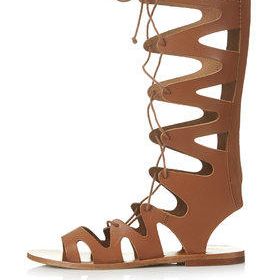 FIGTREE Gladiator Sandals - Tan