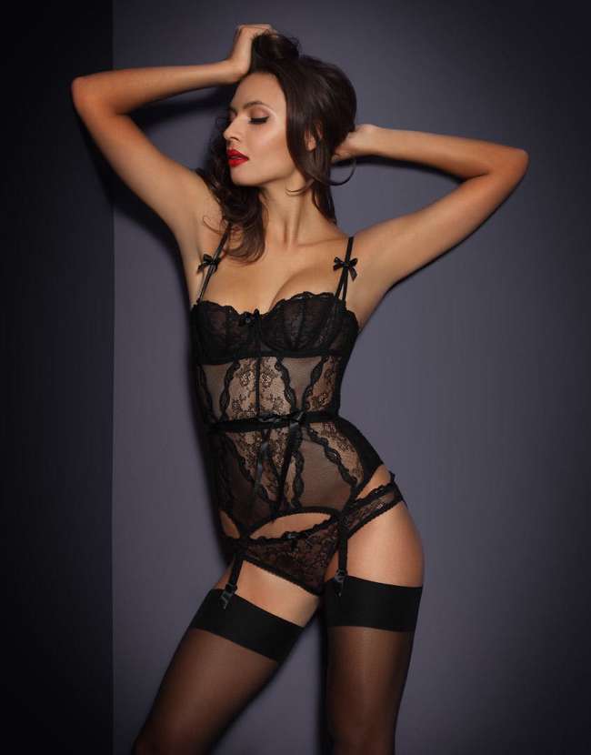 View All Lingerie by Agent Provocateur - Love Basque ... 7b615a85a