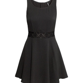 Cr?pe Dress - from H&M