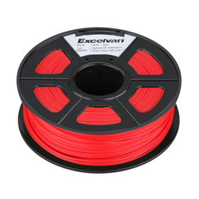 Red Glow Filament 1.75mm PLA