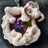 Lucky Dragon with Swarovski crystals Pendant - Never Ending Story