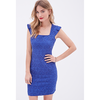 Square-Neck Lace Dress - Sale - 2000099544 - Forever 21 UK