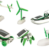 6 in 1 Educational Solar Energy Robot Kit - transforming robo toy - construction kit