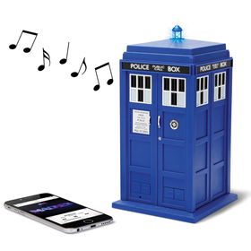 The Doctor Who Bluetooth Speaker - Hammacher Schlemmer