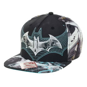 Batman Arkham Knight Snapback Cap black