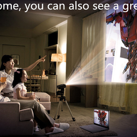 Portable Mini H LED Projector Cinema Theater PC