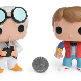 Back to the Future Vinyl Pop Figures