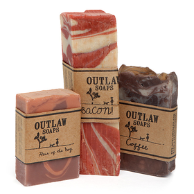 OMFG It is Bacon, Whiskey and Coffee Soap