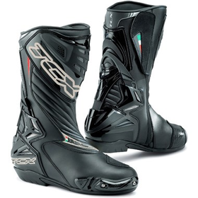 TCX S R1 Motorcycle Boots Gore Tex Black