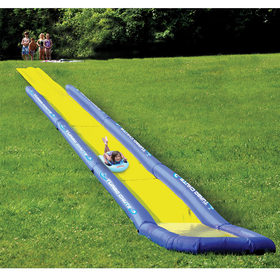 The World's Longest Backyard Water Slide - Hammacher Schlemmer
