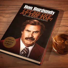 Ron Burgundy - Let Me Off At The Top! at Firebox.com