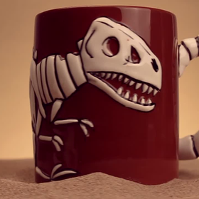 Jurassic Fossil Mug at Firebox.com