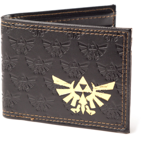 The Legend of Zelda Embossed with Gold Foil Bifold