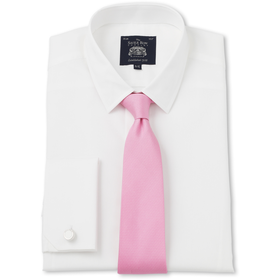 White Poplin Extra Slim Fit Shirt