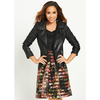 Myleene Klass Embossed Detail Leather Jacket</h1>