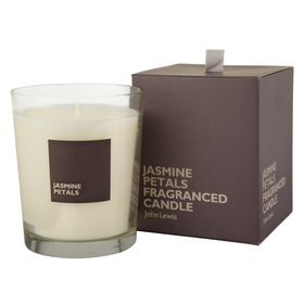 John Lewis Jasmine Petals Scented Candle In A Box