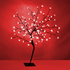 Decorative Bonsai Tree Light with 96 Red LED's - 100cm