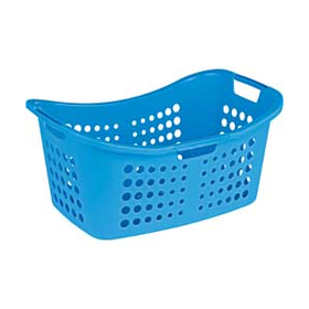 ColourMatch Laundry Basket - Fiesta Blue.
