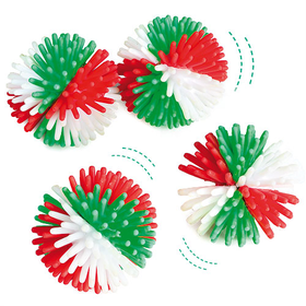 Christmas Hedgehog Balls