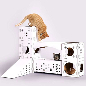 Cat Blocks Playhouse