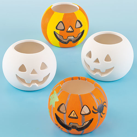 Ceramic Pumpkin Tealight Holde…