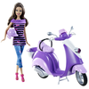Barbie Teresa Doll and Scooter