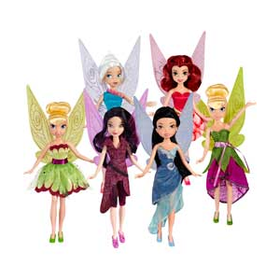 Disney Fairies Sparkle Party Doll Assortment.