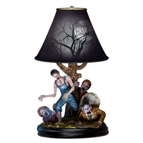 Dead Of Night Lamp Lets You Rise and Shine with Zombies by FX Artist J. Anthony Kosar! The Tabletop