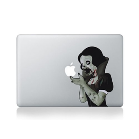 "Macbook 13"" décalcomanie autocollant Snow White Zombie l'art pour les Apple ordinateu"