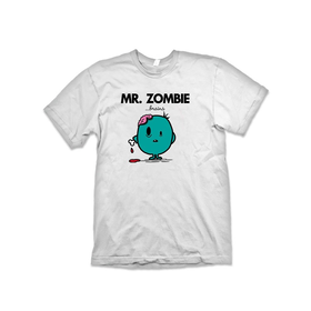 A 'Mr Zombie' T-Shirt Inspired By Mr Men