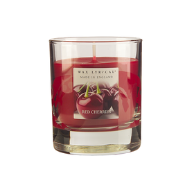Wax Lyrical Glass Candle - Red Cherries