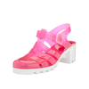 Ju Ju Babe Two Tone Jelly Sandals