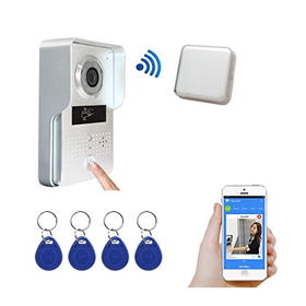 Amocam Wireless Wifi Video Intercom Door Bell System with ...