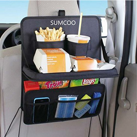 SUMCOO Car Backseat Organizer Storage Pocket and Auto Suv tr...