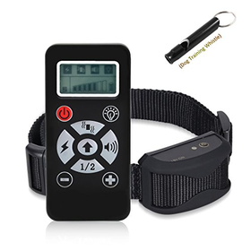 Pet Training Collar with Shock Vibration Beep Electric Rmote Do...