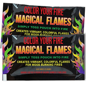 Magical Flames 25-pack: TWICE THE COLOR, half the price! Creat...