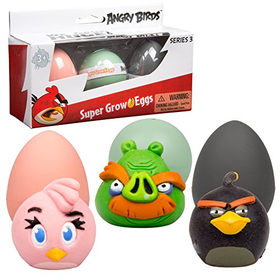 Angry Birds Super Grow Eggs - Hatch and Grow 3 Different Chara...