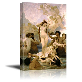 wall26 The Birth Of Venus by William Adolphe Bouguereau Gicl...