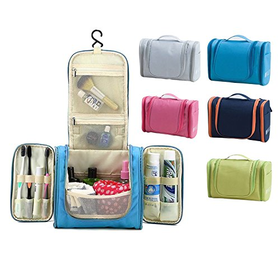 Sino Fish Portable Toiletry Bag For Men & Women - Hanging Toiletrie...